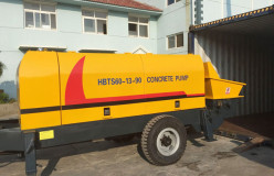 XHBT diesel concrete pump for sale