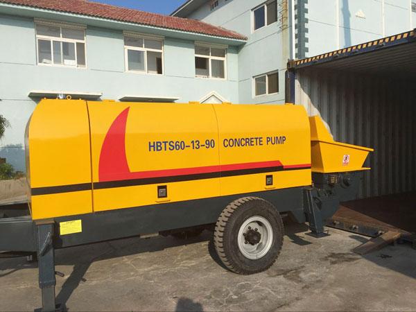XHBT diesel concrete pump for sale