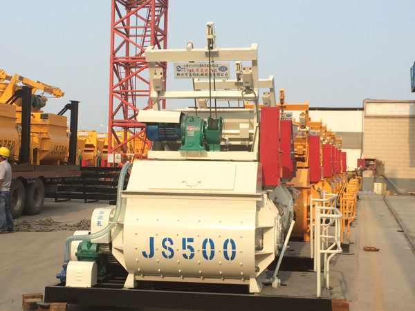 JS small concrete mixer for sale