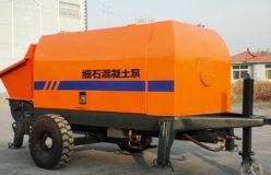 HBT mini concrete pump for sale