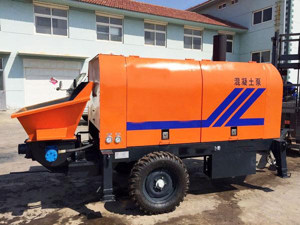 Aimix HBT small concrete pump