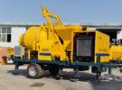 JB30 Diesel Concrete Mixer Pump was Delivered to Uzbekistan