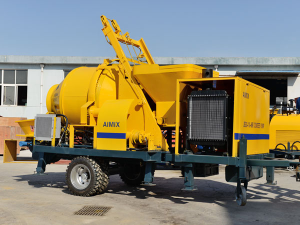 Aimix JB30 Diesel Concrete Mixer Pump