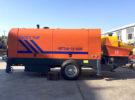 HBTS80 Concrete Trailer Pump was Sent to Vietnam