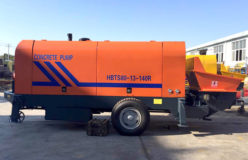 HBTS80 concrete trailer pump