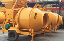 mini concrete drum mixer