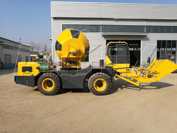 AIMIX self loader mixer truck