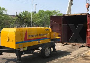 Aimix Concrete Pump Was Sent to Kazakhstan