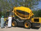 Aimix Self Loading Concrete Mixer Truck Starts Working in Saudi Arabia