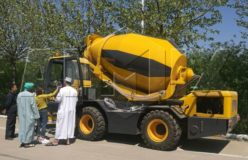 aimix self loading concrete mixer truk in Saudi Arabia