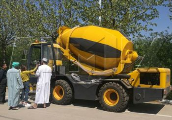 Aimix Self Loading Concrete Mixer Truck Starts Working in Saudi Arabia