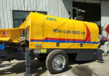 Aimix Diesel Concrete Pump Sent to Tanzania in April