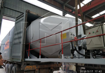 Aimix Concrete Mixer Drum Exported to New Zealand