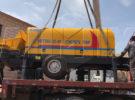 Aimix HBTS60 Trailer Concrete Pump Was Exported to Tajikistan