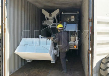 Aimix Self-loading Concrete Mixer Was Sent to Russia