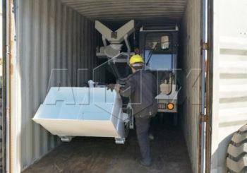 Aimix Self-loading Concrete Mixer Was Sent to Russia