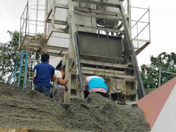 Aimix HZS60 concrete plant in the Philipines