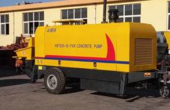Aimix diesel concrete pump to Kazakhstan