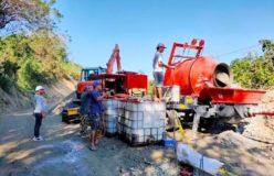 Aimix concrete mixer pump in the Philippines