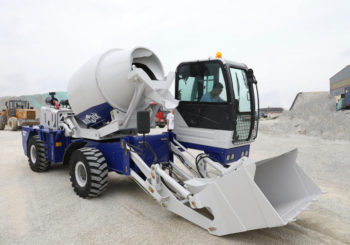 Two Sets Aimix Self Loading Concrete Mixer Start Working in the Philippines