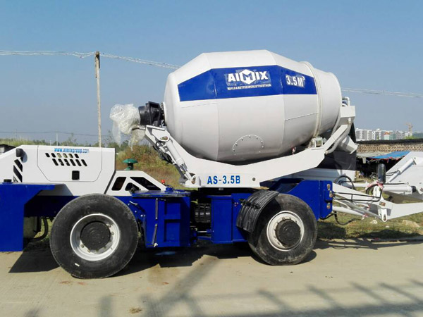 Aimix-self-loading-concrete-mixer-sent-to-Myanmar-2