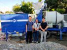 Aimix ABJZC40 Diesel Concrete Mixer Pump Arrive the Philippines in January 2020