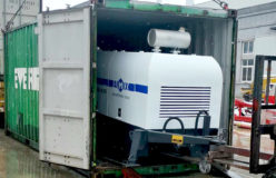 AIMIX abt40c diesel concrete pump sent to Jamaica 2