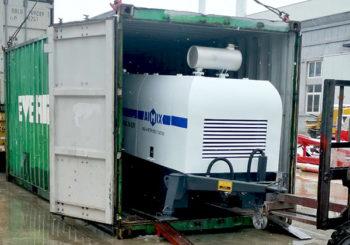 Aimix ABT40C Diesel Concrete Pump will Be Sent to Jamaica