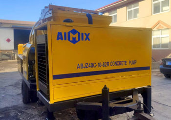 Aimix ABJZC40 Diesel Concrete Mixer Pump is Ready to Malaysia