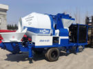 Aimix ABJZ40C Diesel Concrete Mixer Pump Was Sent to Indonesia