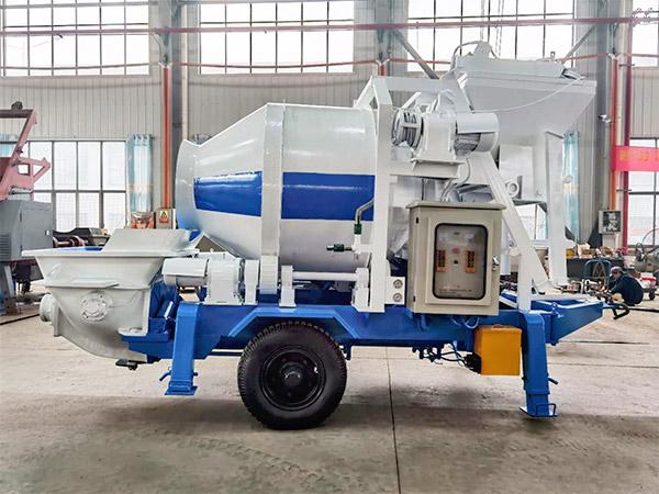 Aimix Concrete Mixer Pump Sent to Uzbekistan 1