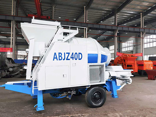 Aimix Concrete Mixer Pump Sent to Uzbekistan 2