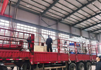 Aimix ABJZ40D Concrete Mixer Pump Sent to Uzbekistan in April 2020