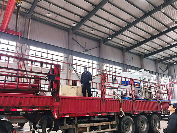 Aimix Concrete Mixer Pump Sent to Uzbekistan 4