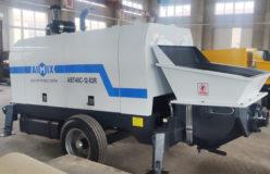 Aimix diesel concrete pump in Ukraine 2
