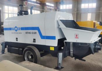 Aimix ABT40C Diesel Concrete Pump Ready to Ukraine