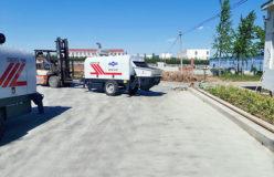 AIMIX ABT40C diesel concrete pump sent to Philippines