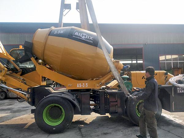 AIMIX-AS3.5B-self-loading-concrete-mixer-sent-to-Barbados-2