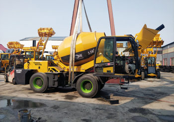 AIMIX AS3.5B Self Loading Concrete Mixer Sent to Barbados in April 2020