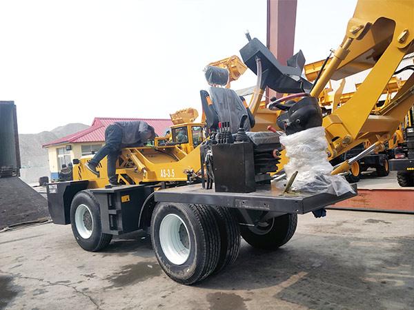 AIMIX-AS3.5B-self-loading-concrete-mixer-sent-to-Barbados-5