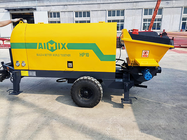 AIMIX mortar spray pump