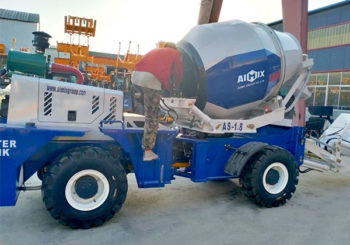 AIMIX AS1.8 Self Loading Concrete Mixer Sent to Philippines in May 2020