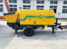 Aimix HP10 Mortar Spraying Pump Sent to Malaysia in June 2020