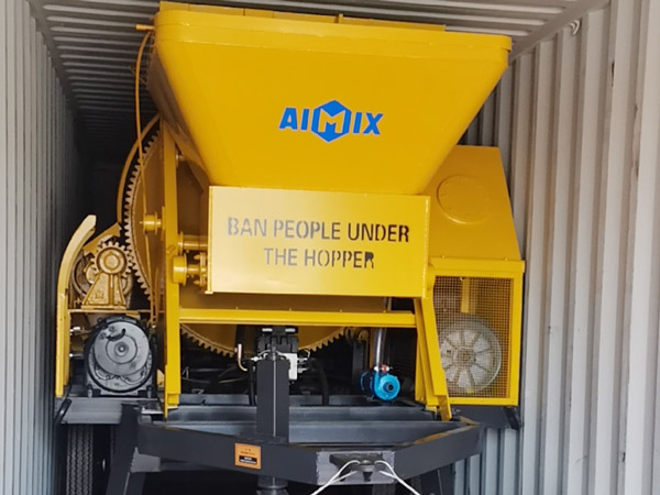AIMIX 40 concrete mixer pump sent Indonesia