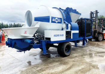 AIMIX 40CBM Diesel Concrete Mixer Pump Sent to the Philippines in July 2020