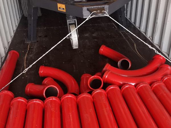 AIMIX 40cbm mixer pump sent Indonesia