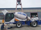 One More AIMIX AS2.6 Self Loading Concrete Mixer Sent to Kazakhstan