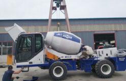 AIMIX self loading concrete mixer sent to Kazakhstan