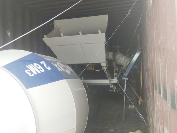 AIMIX self loading concrete mixers sent to Kazakhstan