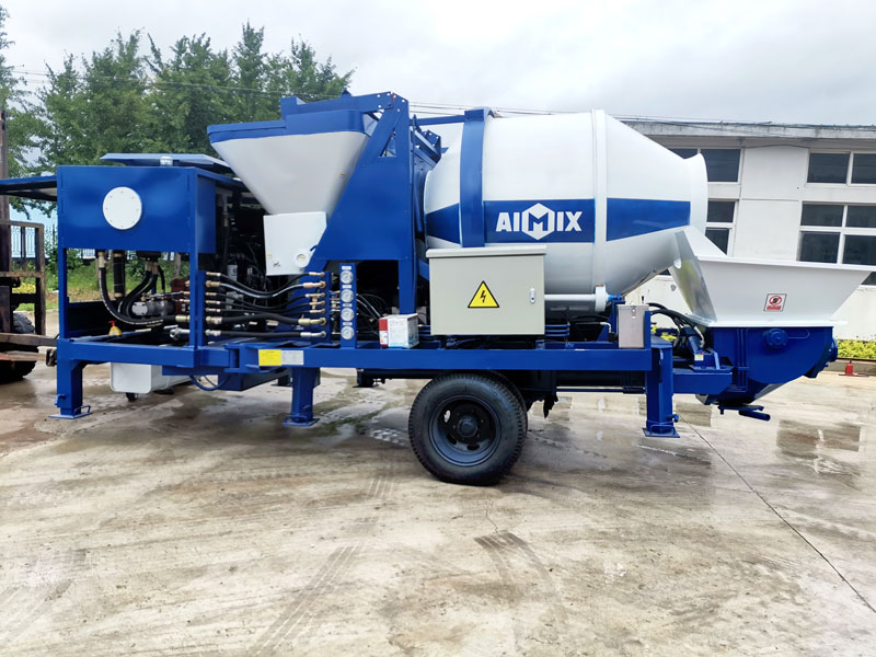 diesel concrete mixer pump to Philippines